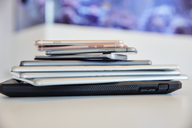 Stack of mobile devices - RHF02110