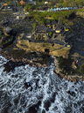 Indonesia, Bali, Aerial view of Tanah Lot temple - KNTF01512