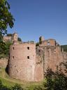 Germany, Rhineland-Palatinate, Bad Duerkheim, Hardenburg, ruin - WIF03607