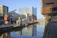 Germany, Hamburg, Hafencity with Elbe Philharmonic Hall - RJF00803