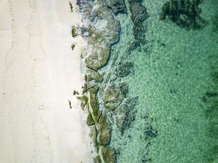 Indonesia, Bali, Aerial view of Karma beach - KNTF01609