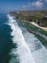 Indonesia, Bali, Aerial view of Karma beach - KNTF01615