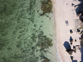 Indonesia, Bali, Aerial view of Melasti beach - KNTF01628