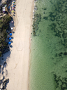 Indonesia, Bali, Aerial view of Melasti beach - KNTF01634
