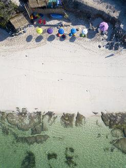 Indonesia, Bali, Aerial view of Melasti beach - KNTF01637