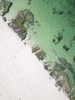 Indonesia, Bali, Aerial view of Melasti beach - KNTF01640