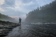 Fly fishing in Maine - AURF04972