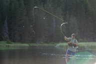 Fly Fishing on the Truckee River - AURF04984
