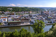 Germany, Bavaria, Passau, city view - HAMF00367