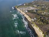Indonesia, Bali, Aerial view of Dreamland beach - KNTF01715