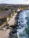 Indonesia, Bali, Aerial view of Dreamland beach - KNTF01745