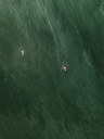 Indonesia, Bali, Aerial view of surfer - KNTF01767
