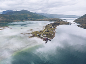 Norway, Aerial view of Senja - RSGF00013