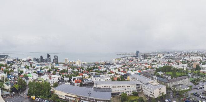 Iceland, Reykjavik, city view - MMAF00559