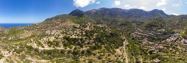 Spain, Balearic Islands, Mallorca, Region Valldemossa and Soller, mountain village Deia, Serra de Tramuntana - AMF05965