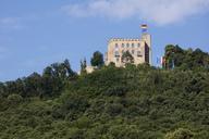 Germany, Rhineland-Palatinate, Neustadt an der Weinstrasse, Hambach, Hambach Castle - WI03623