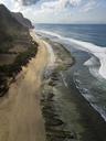 Indonesia, Bali, Aerial view of Nyang Nyang beach - KNTF01805