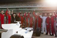 Racing team celebration - LUXF00344