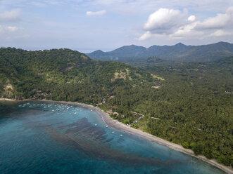 Indonesia, Bali, Aerial view of beach - KNTF01863