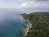 Indonesia, Bali, Aerial view of beach - KNTF01884