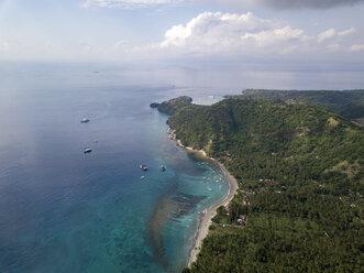 Indonesia, Bali, Aerial view of beach - KNTF01884