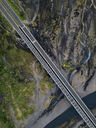 Indonesia, Bali, Aerial view of bridge - KNTF01890