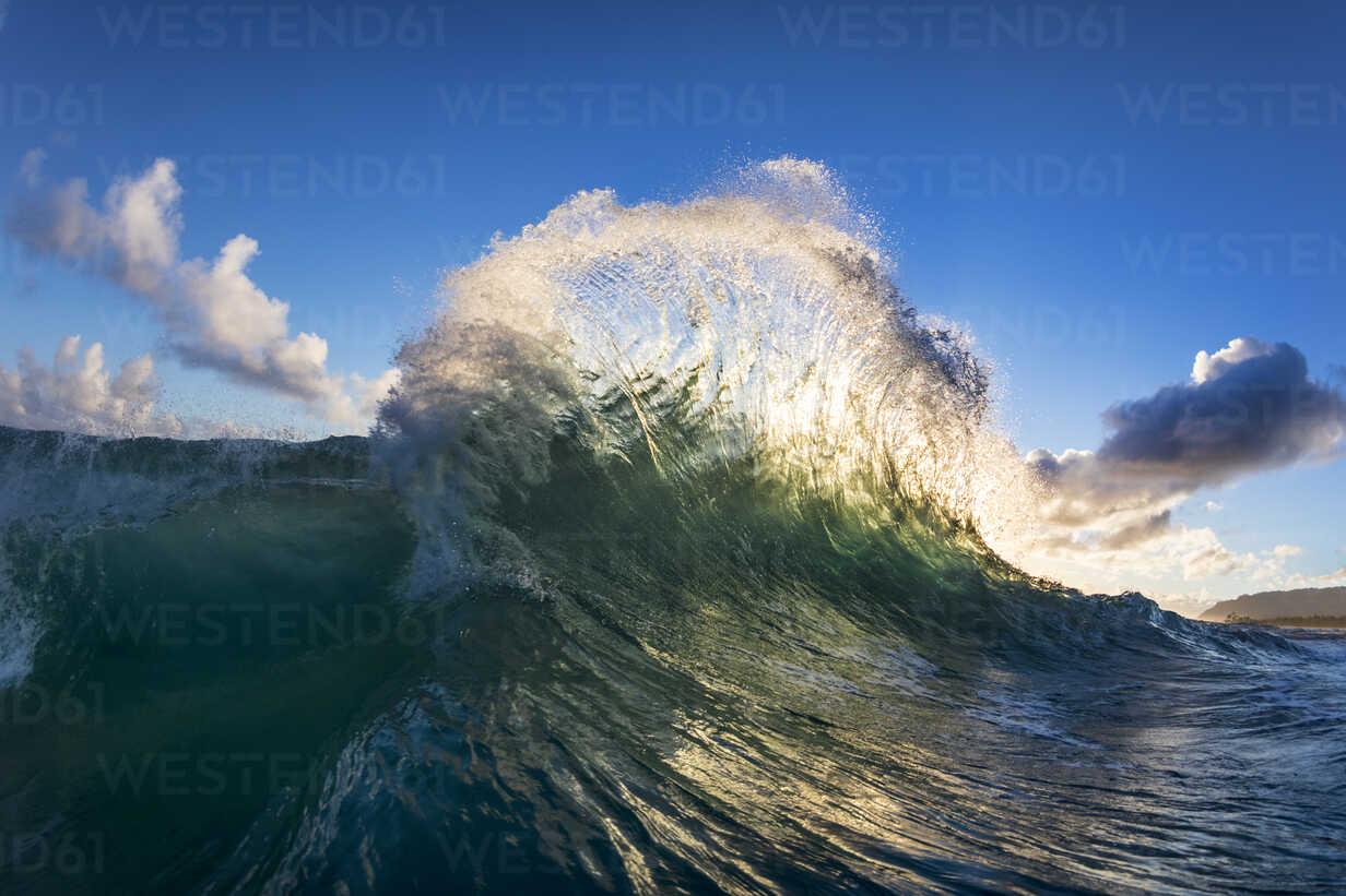 Ocean wave, Oahu, Hawaii, USA - AURF06655 - Cavan Images/Westend61