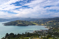 New Zealand, South Island, Canterbury, Banks Peninsula, Akaroa Harbour - MKFF00387