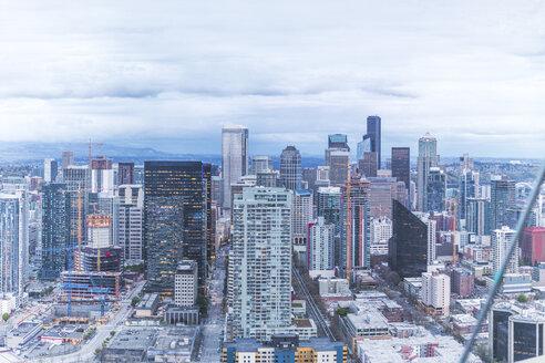USA, Washington State, Seattle, Skyline - MMAF00572