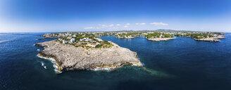 Spain,  Balearic Islands, Mallorca, Coast of Cala d'or and bay Cala Ferrera - AMF05980
