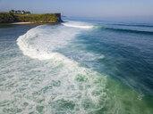 Indonesia, Bali, Aerial view of Balngan beach - KNTF01911