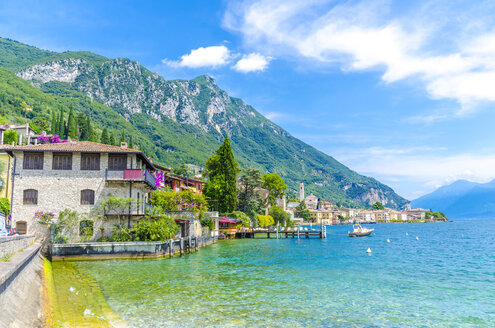 Italy, Lombardy, Gargano, Lake Garda - MHF00483