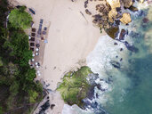 Indonesia, Bali, Aerial view of beach - KNTF02035