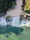 Indonesia, Bali, Aerial view of beach - KNTF02038