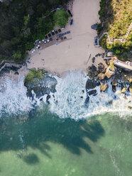 Indonesia, Bali, Aerial view of beach - KNTF02038