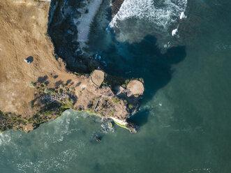 Indonesia, Bali, Aerial view of viewpoint at Balangan beach - KNTF02044