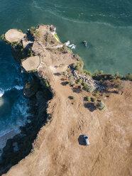 Indonesia, Bali, Aerial view of Balangan beach, viewpoint - KNTF02050