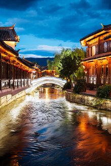 Old Town of Lijiang, Yunnan, China - CUF44691