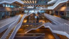 Netherlands, Holland, Rotterdam, Erasmus University Library - RPS00239