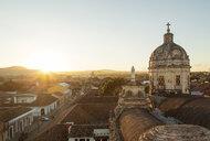 Dome of La Merced Church in Granada, Nicaragua - LUXF00778