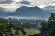 Austria, Ausseer Land, Landscape with mountains - HAMF00397