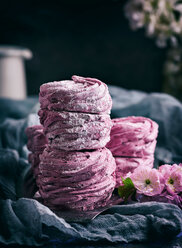 A stack of home made marshmallows - INGF00049