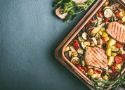 Fresh grilled vegetables and meat - INGF00438