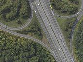Aerial view highway near Frankfurt, Hessen, Germany - FSIF03271