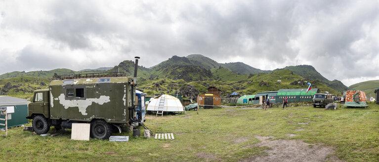 Russia, Upper Baksan Valley, Caucasus, Mount Elbrus Base Camp - ALRF01314