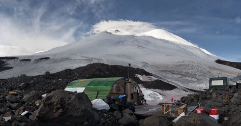 Russia, Upper Baksan Valley, Caucasus, Mount Elbrus North Camp - ALRF01341