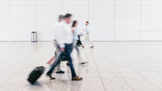 Blurred motion of business commuters - INGF00598