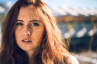 Young redhead woman portrait - INGF00829