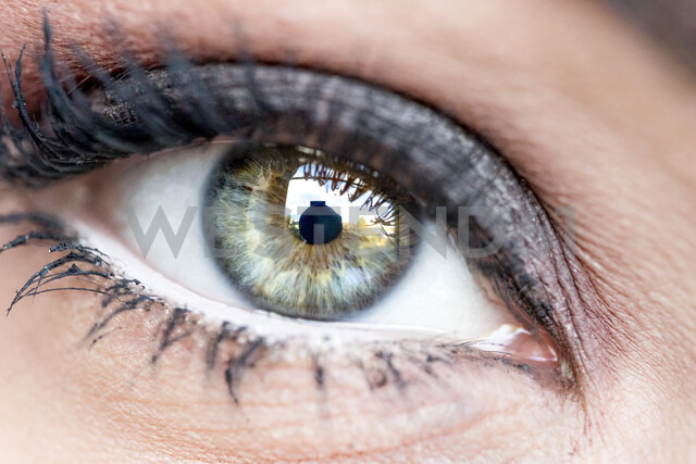 Woman's eye, close-up - PUF01326