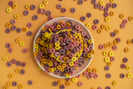 Cup and plate full of cereals - AFVF01846